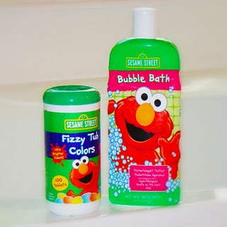 Sesame Street Bubble Bath And Fizzy Tub Colors Review And Giveaway Closed