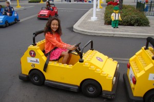 then we visited the volvo driving school for kids who would love to drive believe me sophia was so happy to try it out she had so much fun that she
