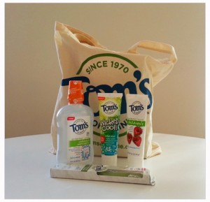 Tom's of Maine Natural Kids Oral Care Kit